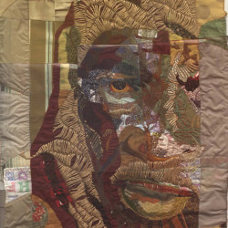 mixed media embroidery, 1999
